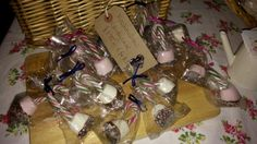 Candy cane marshmallows, great for the festive sweet bowl, in a window of your homemade advent calender or as a stocking filler  @ £4.50 for 3 or  £7.50 for 6 plus p&p