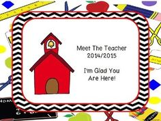 This power point has cute school supply paper with black chevron outlining the power point. You can delete the pages you do not want to use. There is also a blank slide that you can duplicate and make your own slides as needed. Slides included are: A cover page that I made not editable anda cover page for you to type your name, school name, event name and date or what ever you like.