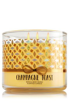 Champagne Toast 3-Wick Candle - Home Fragrance 1037181 - Bath & Body Works