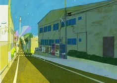 Downtown Rocket illustration by Tatsuro Kiuchi
