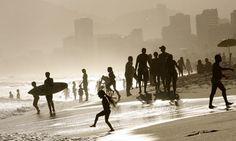 rio de janeiro beach photograph // national geographic