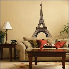 Paris Theme Bedroom Decorating ideas
