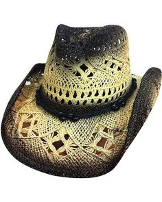 ef9b3e0d2bc Bullhide Scorched Black Toyo Straw Hat Cowgirl Hats