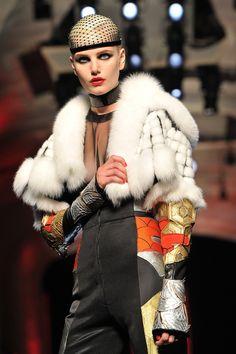 #Jean-Paul Gaultier: Runway - Paris Fashion Week Haute Couture F/W 2012/13 #Evening Jacket