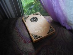 "Neverending Story Leather Book Cover for Kindle, iPad Mini or other 6""-8"" tablets on Etsy, $50.00"