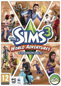 Sims 3 World Adventures Expansion Pack.