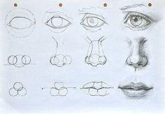 Рисуем лицо: