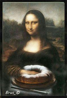 Mona Friends, La Madone, Mona Lisa Parody, Mona Lisa Smile, Renaissance Artists, Guinness World, Many Faces, Van Gogh, Walls