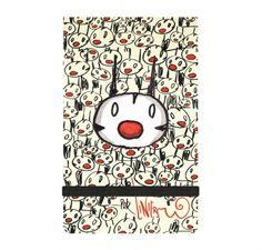 Pequeña libretita de Liniers, dibujante argentino. ¡Una preciosidad total!