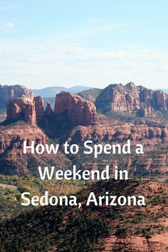 Sedona is one place that captures people's attention due to its striking landscape and colors. It is a place for those seeking outdoor adventure, healing and spirituality. Some of the things you must do on a weekend in Sedona, Arizona are to go hiking, horseback riding, four wheeling, take a pink jeep tour and let the desert heal you. Of course, you would then need something to eat, and probably a spa. Sedona is just 2 hours from the Grand Canyon