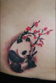 I would love to get this one because 1 for the Panda and 2 because my mom loves cherry blossoms