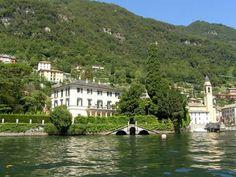 Clooney's Home on Lake Como