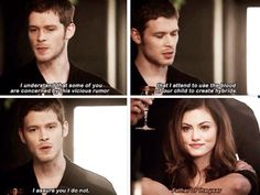 """S1 Ep9 """"Reigning Pain in New Orleans"""" - Klaus and Hayley"""