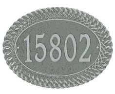 Chartwell Standard Wall Address Plaque - standard, Gray by Home Decorators Collection. $119.00. Chartwell Standard Wall Address Plaque - Designed With Large Numbers For Maximum Visibility, The Chartwell Standard Wall Address Plaque Is Perfect For Displaying Your Address In Style. Featuring A Stunning Braided Border, You Should Order One For Your Home Today.This Textured And Dimensional Address Plaque Has A Braided Accent Border.Built To Withstand The Elements, Th...