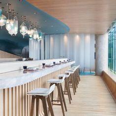 Bartok design Co. Bar Design Awards, Restaurant Bar, Sushi Counter, Trends 2016, Japanese Soaking Tubs, Table, Furniture, Home Decor, Decoration Home