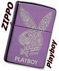 Zippo PLAYBOY Bunny Abyss Windproof Lighter 28076 *NEW*