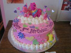 my little pony birthday cakes | My little pony birthday cake on clouds | Flickr - Photo Sharing!