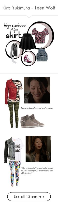 """Kira Yukimura - Teen Wolf"" by maliahennig ❤ liked on Polyvore featuring Calvin Klein, H&M, VIPARO, GET LOST, maurices, G by Guess, American Eagle Outfitters, Oh My Love, P.A.R.O.S.H. and Philipp Plein"