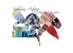 Collage missoni headbands