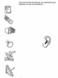 los sentidos para preescolar - Buscar con Google