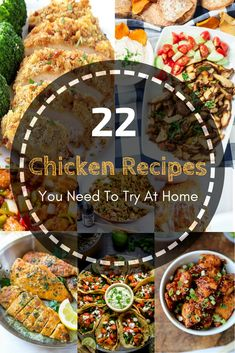 22 Chicken Recipes You Need To Try At Home