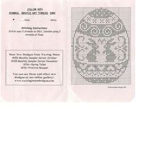 Ei Osterhasen 02 Cross Stitch Charts, Cross Stitch Patterns, Crochet Patterns, Cross Stitching, Cross Stitch Embroidery, Filet Crochet, Knit Crochet, Hobbies And Crafts, Diy And Crafts