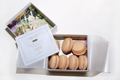 The 12 Coolest Fashion Week Invites #refinery29 http://www.refinery29.com/11161#slide4 Honor: This invite has built the brand a TON of pre-show buzz. The macaroons were so delicately delicious, we went off our cleanse for a hot min.