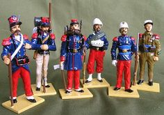 French Foreign Legion RIVAS Collection by Pearce Minatures