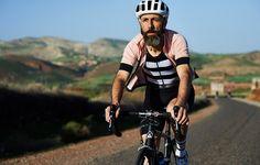 Maillot Lucienne Rose Fumé | Café du Cycliste