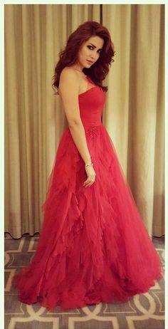 Bg21 Simple Long Red A-Line Prom Dress cf517b2b65aa