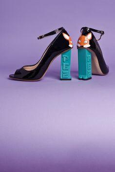 Lila and Cloe: PEZ CLASSICS shoes by Camilla Elphick