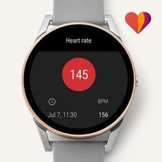 Our Q Control touchscreen smartwatch is prepared for any adventure with all-new heart rate tracking. Customize the full-round display with your handiest features, receive notifications (on the go) and automatically track your activity from the hiking trails to the gym.Smartwatches built with Wear OS by Google™ are compatible with iPhone® and Android™ phones. Wear OS by Google and other related marks are trademarks of Google LLC. Touchscreen smartwatches built with Wear OS by Google require a…