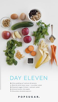 Day 11 Recipes: Clean-Eating Plan