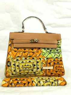 African print hand bag  Check Out Latest Ankara Styles and Dresses >>> www.dezangozone.com/