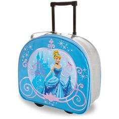 Disney Cinderella Rolling Luggage | Disney StoreCinderella Rolling Luggage - Transform any mere vacation into a royal tour with our sparkling Cinderella luggage. Dreamy storage space for all her travel needs will help your little maid become the belle of every ball.