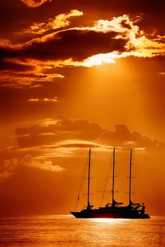 Sailing away to do nothing but watch a million different sunsets......