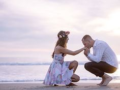 So romantic! Engagement photos on the beach. Epic Imagery, Southern California.