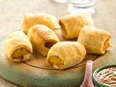 Chicken satay sausage rolls - Yahoo!7 Food