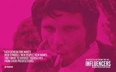 Influencers : Jim Morrison