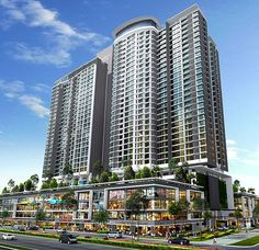 IGB run Midvalley Mega mall JV w Selia pantai /Southkeys to build mega mall in near camp majadee Johor Bahru, Tokyo Night, Buying Your First Home, Luxury Restaurant, New Launch, Condominium, Facade, Skyscraper, Multi Story Building