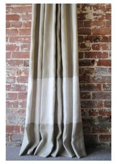 two toned cream curtains - Google Search