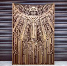 Each inch piece of laser-cut mahogany plywood stacks into an exquisite union of overlapping geometry in mandala-like forms. Plywood Art, Laser Cut Plywood, Laser Cutting, Laser Cutter Ideas, Laser Cutter Projects, Geometric Artwork, Geometric Mandala, Laser Art, Cnc Wood