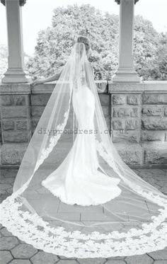 Not my style, but super pretty!  vintage wedding dress