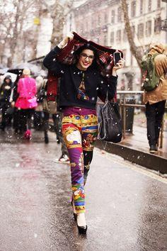 street style en Milan Fashion Week