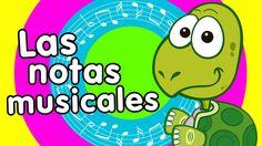 notas musicales canciones infantiles