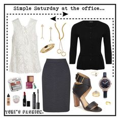 """""""Tori's simple Saturday at the office."""" by tori-holbrook-th on Polyvore featuring Gerry Weber, Sans Souci, M&Co, Splendid, Maya Brenner Designs, Chloé, INC International Concepts, Journee Collection, La Kaiser and Kobelli"""
