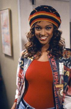 Tyra Banks as Jackie Ames on the Fresh Prince of Bel Air.
