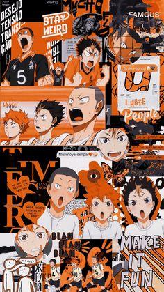 iphone wallpaper for guys Anime Aesthetic Icon Haikyuu Haikyuu Nishinoya, Haikyuu Fanart, Haikyuu Anime, Anime Naruto, Tanaka Haikyuu, Kageyama, Hinata, Wallpaper Animes, Haikyuu Wallpaper