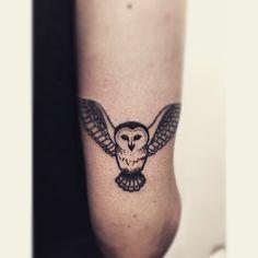 owl blackwork tattoo - Google zoeken