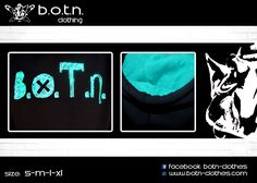 "B.O.T.N. Hoodies  ""Details"" (petrol Colour)"